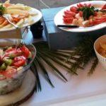 buffet de salades composées