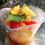 coupelle de fruits
